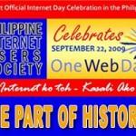 Celebrating 'One Web Day 2009′