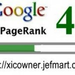 My Blog Now Has Google PageRank 4!