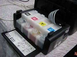Epson Ink Tank Printing With Continuous Ink Supply System